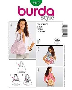 Burda Schnittmuster 7410 Taschen,Bolsos,Sacs,Bags