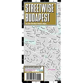 Plan StreetWise Budapest