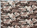Walter Kern Polsterstoff Deko-Stoff Meterware Camouflage
