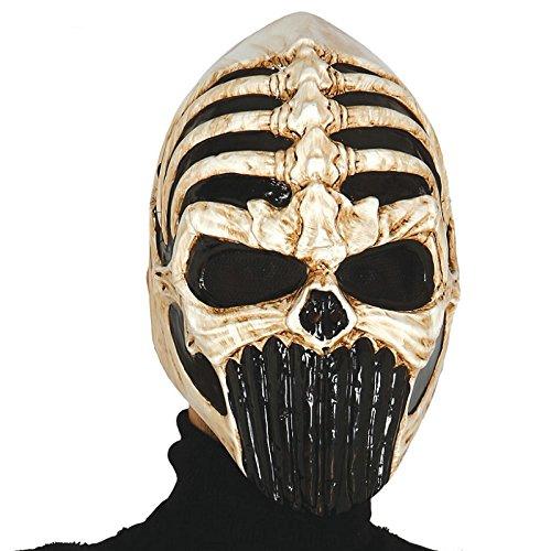 Fiestas Guirca GUI2784 - Maske Schädel (Krieger Für Maske Erwachsene Weißer)