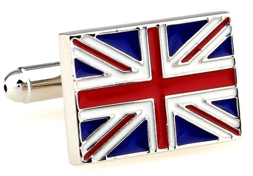Union Jack Cufflinks by GIFTSEARCH