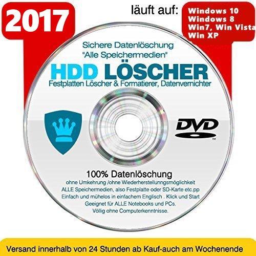 Preisvergleich Produktbild Festplatten Löscher & Formatiere,  Datenvernichter