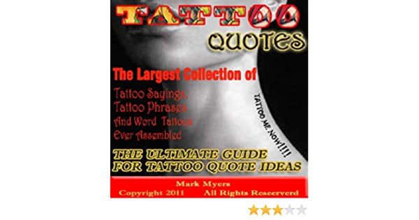 Tattoo Quotes The Ultimate Guide For Tattoo Quote Ideas The Largest