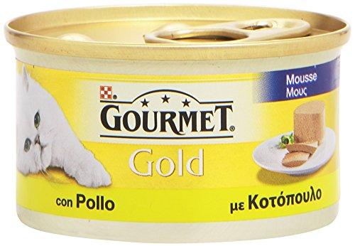 Gourmet gold, cibo per gatti, mousse con pollo - 85 g