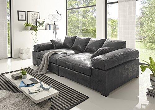 BIG Sofa -Vintage Grau – Modell Hercules