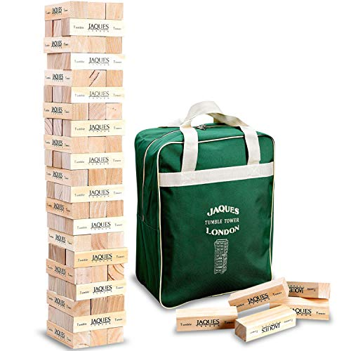 Jaques of London Garden Tumble Tower - Builds Over 3ft Tall During Indoor or Outdoor Play