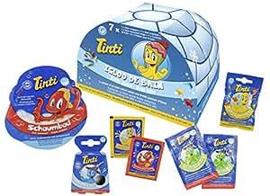 Tinti Igloo Boîte de 7 Produits de Bain pour l'Hiver 7 g