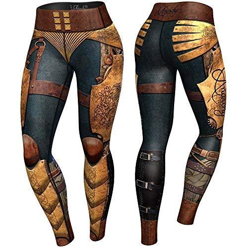 Anarchy Apparel Compression Leggings, Victorian, Fitness Pants, Wear, MMA Hose Größe S -