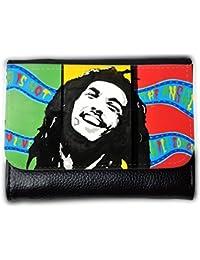 le portefeuille de grands luxe femmes avec beaucoup de compartiments // V00001929 Bob Marley // Medium Size Wallet