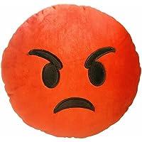 Emoji Coussins Créatifs et Rigoles Modèles Variés Hyper Doux 35*35 cm (Je suis en colère)