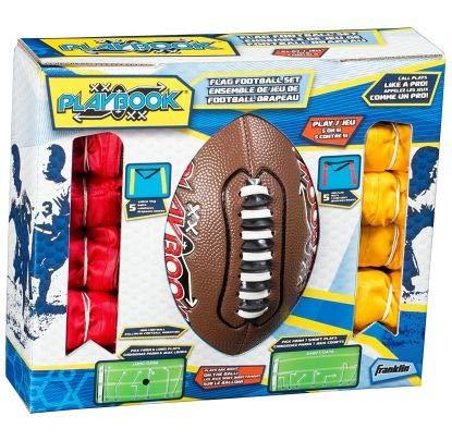 Franklin Sports Mini Playbook Flag Football Set by Franklin Sports