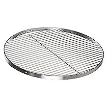 Brandsseller Edelstahl Grillrost Schwenkgrill geeignet - Rostfrei Edelstahl 18/0 Asi 430 Nickelfrei - Ø 60 cm