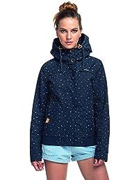 Ragwear Women's Blouse Jacket Blue Navy