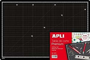 APLI Tapis plaque de coupe Premium Autocicatrisant 45 x 30 cm
