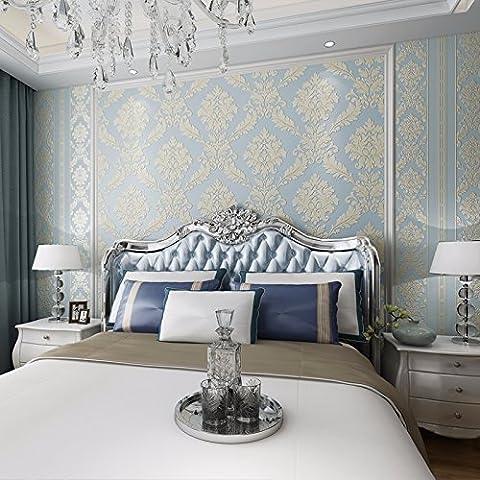 BIZHI Contemporary Wallpaper Art Deco 3D Simple Modern Wallpaper Wall Covering Non-woven Fabric Wall Art,9535