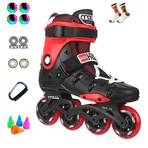 Inline Skates Performance, Profi-Eisschnelllaufschuhe Für Erwachsene, Einsteiger-Rollschuhe, 36-44 Yards Optional (Color : C, Size : EU 41/US 8/UK 7/JP 25.5cm)