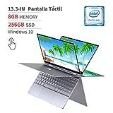 BMAX Y13 2 en 1 Ordenador portátil, táctil Convertible Notebook de 13.3' FHD 1080P Pantalla (Intel...