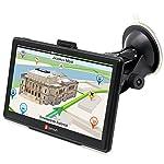 """7"""" GPS para Coche 8GB/256M DDR/800MHZ Actualización Gratis de Mapa de Europa Toda la Vida - Junsun"""
