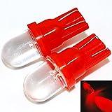 mfpower 100T101W 25LM Leuchtmittel Motorrad Lenkung/Instrument/Nebelscheinwerfer DC 12V Car Auto Red Lights