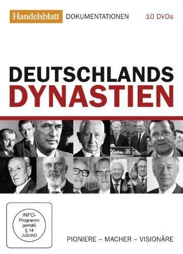 Deutschlands Dynastien - Pioniere, Macher, Visionäre (Handelsblattedition) [10 DVDs]