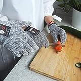 Sinwind Schnittsichere Handschuhe für Kinder - Leistungsfähiger Level 5 Schutz, lebensmittelecht (XXS (4-7 Jährige))