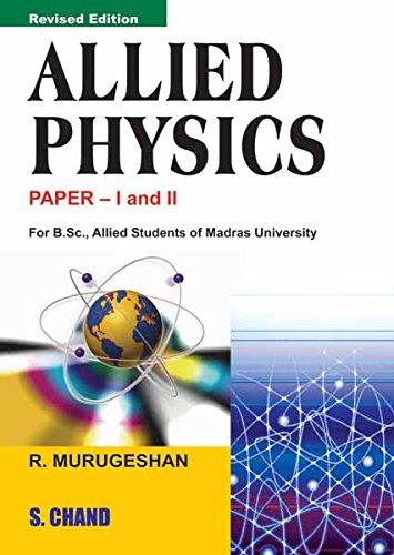 Allied Physics Paper I & II (English Edition)