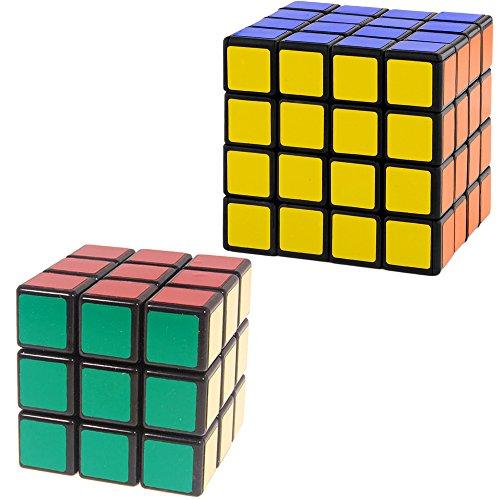 (Shengshou Formel? Shengshou Speed Cube Collection, 3 x 3 x 3 x 4 cm, Schwarz)
