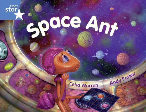 Rigby Star Y1/P2 Blue Level: Space Ant (6 Pack) Framework Edition: Year 1/P2 Blue level
