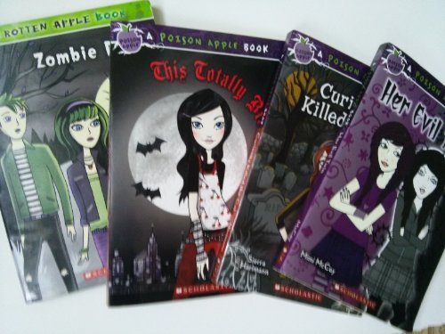Poison Apple Series: Zombie Dog; Curiosity Killed the Cat; Her Evil Twin; This Totally Bites (Book Sets for Kids : Grade 3 - 6) by Erin Downing (2008-05-04) (Apple-serie Poison)