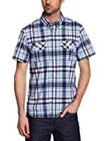 Timberland Clothing SS Harmon Plaid Men's Shirt