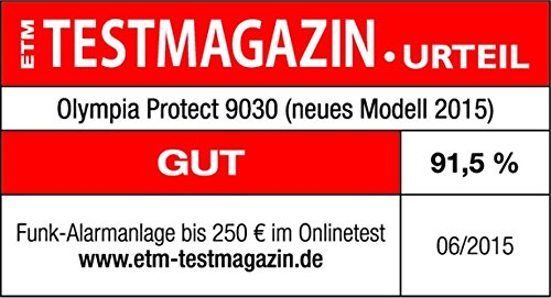 Olympia Protect 9061 Sicherheit Plus Alarmanlage - 3