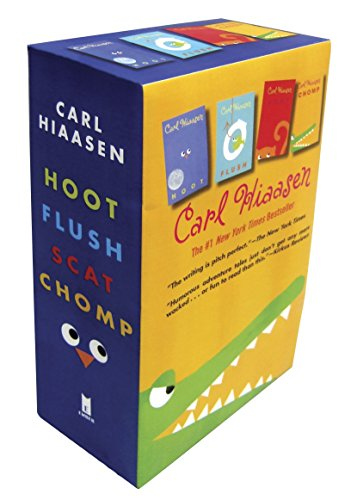 Hiaasen 4-Book Trade Paperback Box Set (Chomp, Flush, Hoot, Scat) -