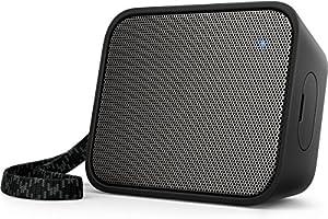 Philips BT110B/00 PixelPop draagbare draadloze mini-luidspreker, bluetooth, spatwaterdicht, accu van 8 uur zwart