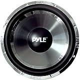 Pyle PLCHW10 - Subwoofer (Pasivo, 1400 W, 83.5 Db, Negro, Cromo)