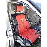 Para adaptarse a un Renault Trafic 2007van, fundas de asiento, Recaro deportes, rojo/negro YS06