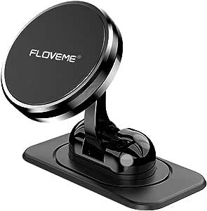 Floveme Handyhalterung Auto Magnet Armaturenbrett Magnetische Handyhalter Fürs Auto Mit Klebrige Basis Einstellbar Kfz Handy Halterung Kompatibel Für Iphone 11 Pro Xs Xr X 8 7 Samsung Huawei Usw Elektronik