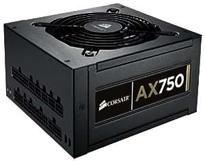 Corsair Professional Series Gold AX750 High Performance mit modularen 750 Watt PC Netzteil