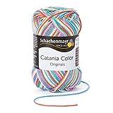 Schachenmayr Catania Color 9801780-00211 Lollipop Handstrickgarn, Häkelgarn, Baumwolle