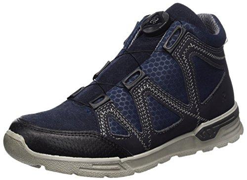 Ricosta Unisex-Kinder Rocco Hohe Sneaker, See/Ozean, 00035 EU