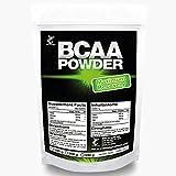 BCAA 500g Pulver   2:1:1 Big Pack XL   100% Rein ohne Zusätze   ( L-Leucin, L-Isoleucin, L-Valin) essentielle Aminosäuren   Antikatabol + Anabol   Muskelaufbau, Muskelschutz & Regeneration, Top Qualität made in Germany