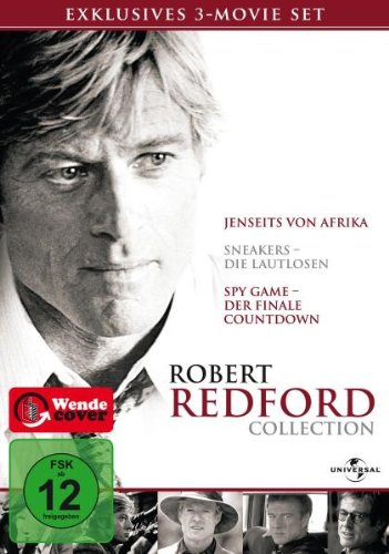 robert redford collection 3 dvds preisbarometer. Black Bedroom Furniture Sets. Home Design Ideas