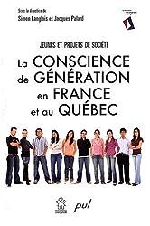 La conscience de génération en France et au Québec : Jeunes et projets de société