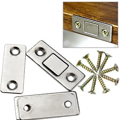 2pcs Magnetschnäpper Schublade Kühlschrank Möbelmagnet Schnapper Verschluss