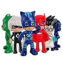 New 6pieces PJ Masks Demetli Hands and legs Figures for kids–Yeni 6adet PJ Masks taşınma çocuklar için eller ve ayaklar figürler