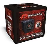 30cm Bassbox Single-Bassreflex-System Basskiste 12' 500 Watt Renegade RXV-1200