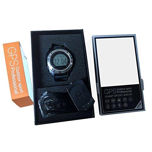 Handy-Uhr für kinder damen, Sport Smartwatch Ios & Smart Armband Bluetooth Uhr / Fitness Tracker Testsieger 2017 Fitness Tracker Bestseller, USB 2.0 Schnittstelle Geschwindigkeit in Echtzeit - Schwarz