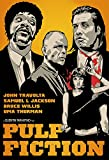 Pulp Fiction Poster - Quentin Tarantino Movie Poster ( Self Adhesive Poster ) (12 x 18 inches)