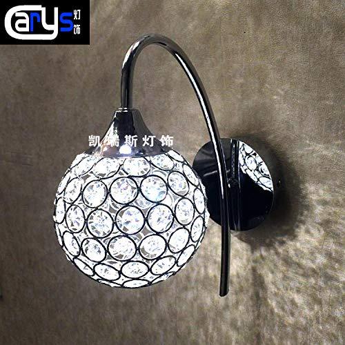 GYBYB Wandlampe des Kopfes eines Bettes Flurlicht Esszimmer die Kristallwandlampe LED Wandlampe Wandlampen und Laternen @ seeChart -