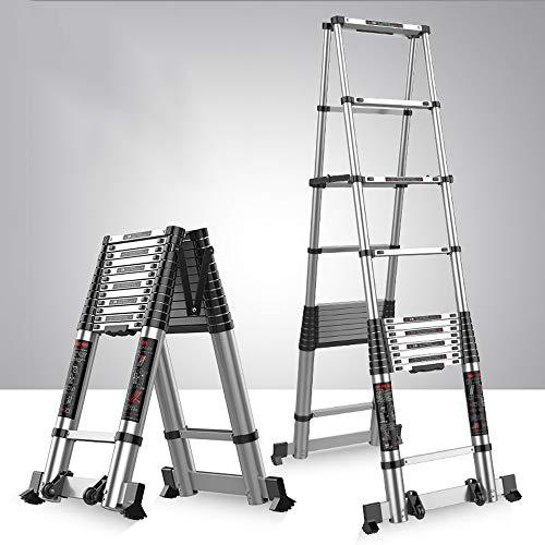MC-BLL-ladder Thick Aluminiumlegierung Multi-Funktions-Erweiterung Leiter Engineering Leiter tragbaren Fischgräten Haushalt Falte Innen Heben Treppen (Leiter Multi-funktion)