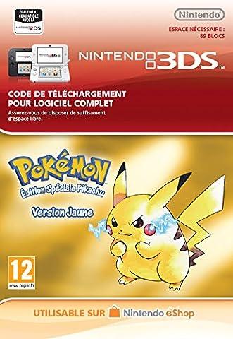 Pokémon Version Jaune [Nintendo 3DS - Version digitale/code] [Code jeu à télécharger]
